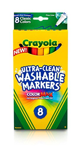 Crayola Ultra Clean Washable Markers Classic