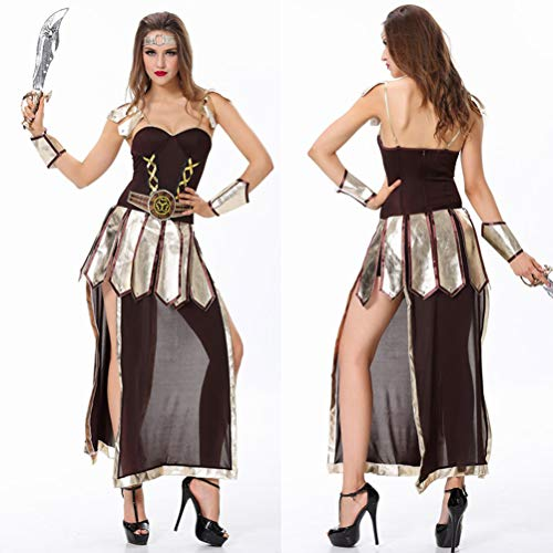 YRE Cosplay Robin Hood Female Warrior Costume, Role-Playing Nightclub Party Costume, Halloween Pirate Costume (Mean Code)