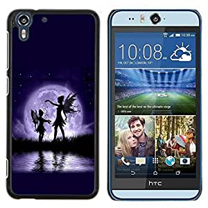 Dragon Case - FOR HTC Desire EYE M910x - you may be the world - Caja protectora de pl??stico duro de la cubierta Dise?¡Ào Slim Fit