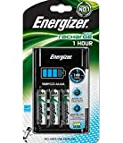 Energizer 1Hour Battery Charger Fast-charging Accu with 4x AA 2300mAh Batteries Ref 638892