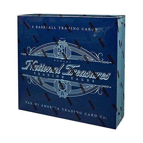 National Baseball Card - 2017 Panini National Treasures Baseball Hobby Box