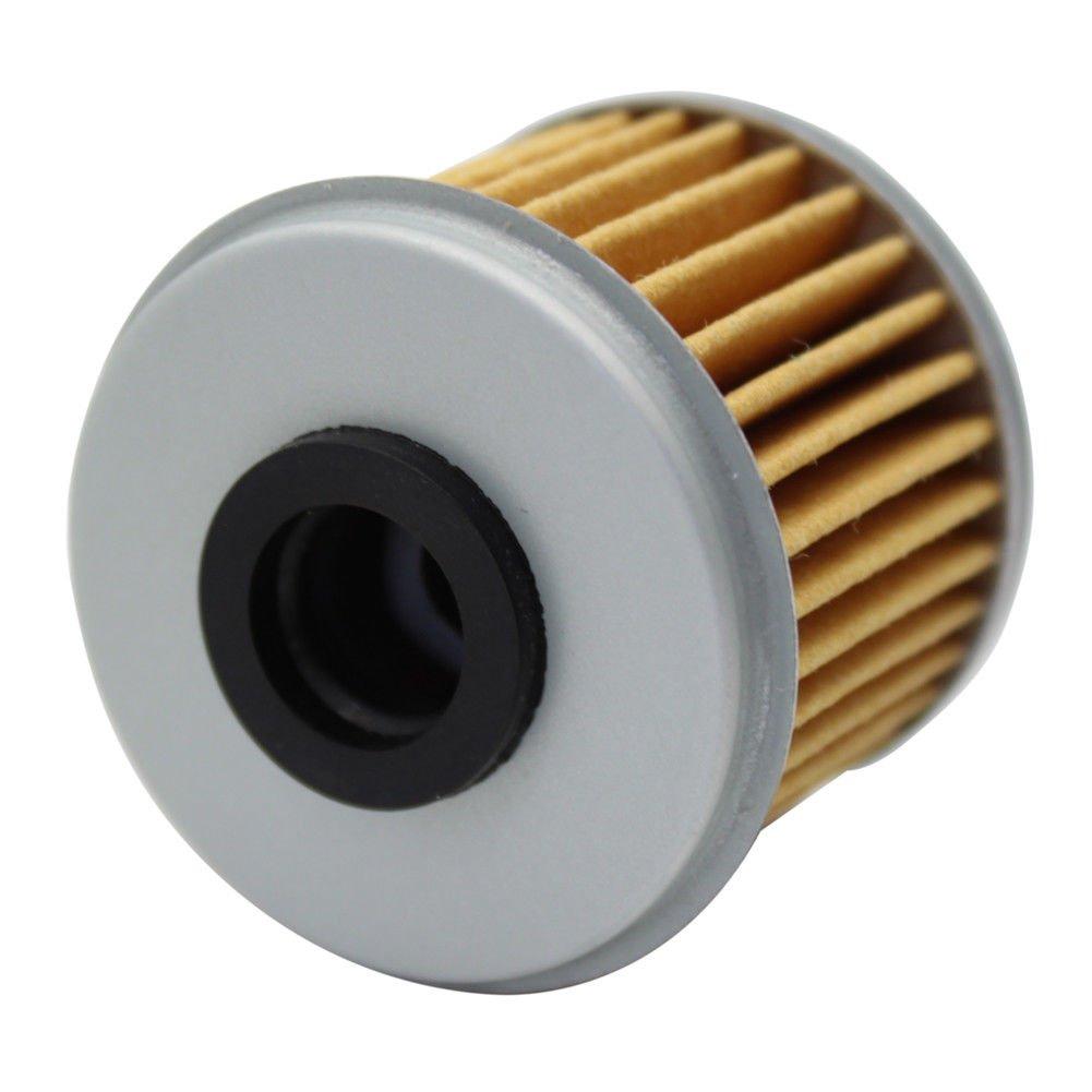 Cyleto Filtro de aceite para TRX450R TRX 450R 2004 2005 2006 2007 2008 2009 2012//TRX450ER TRX 450ER 2006 2007 2008 2009 2012 2013 2014