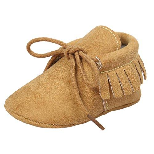 09b31b697 Bebé Vestir Verano Nacido Zapatos Switchali De Zapatillas Bebé Niñas  Antideslizante Amarillo Borla Niño Bebe Casual ...