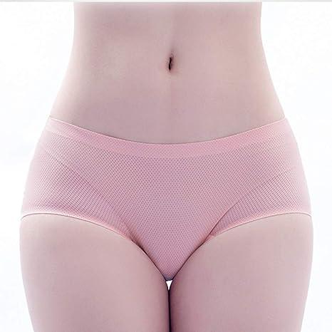 KUAQI 3 Pack Bragas Mujer Una Pieza Seda De Hielo Sin Rastro Transpirable Calzoncillos,Pink,OneSize: Amazon.es: Deportes y aire libre