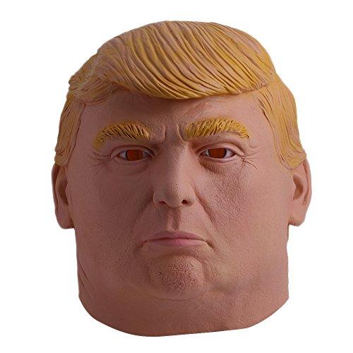 Delight eShop 1pcs Donald Trump, Halloween Mask, Republican Presidential Candidate Mask, funny (Realistic Halloween Masks)