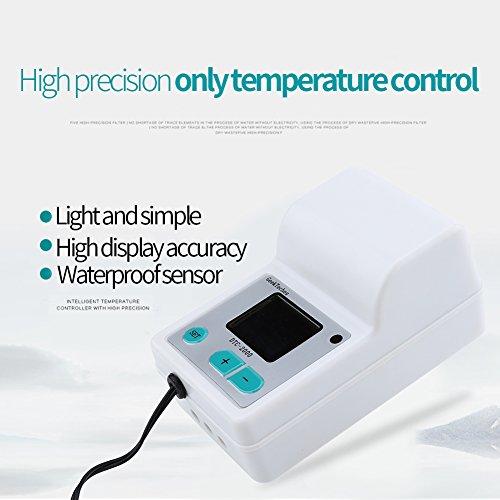 Akozon LCD Water Temperature Controller DTC-2000 Precision DigitalLCD Digital Wasser Temperatur Controller Thermostat for Aquaculture mit Thermoelementen Wasserdicht Sensor Sonde by Akozon (Image #3)