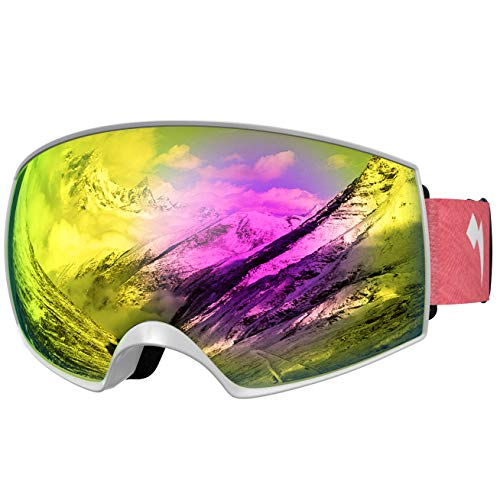 43a3abd45d05 WhiteFang Ski Goggles PRO for Men Women   Youth