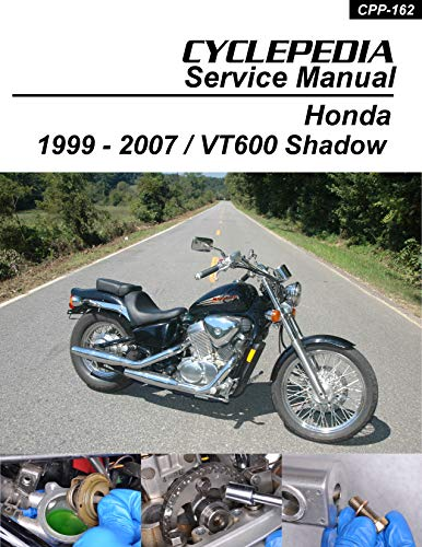 1999-2007 Honda VT600CD Shadow VLX & VLX Deluxe Service Manual