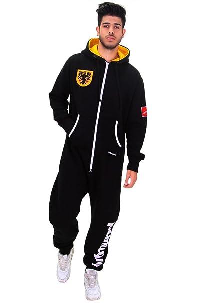 Saldi 2019 la moda più votata immagini ufficiali TUTONE pigiama intero uomo DSguided Dortmund maglia Tutina ...
