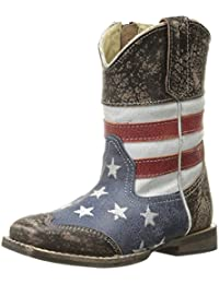 American Square Toe Cowboy Boot (Toddler)