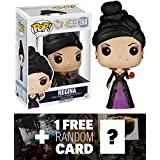 Regina: Funko POP! x Once Upon A Time Vinyl Figure + 1 FREE American TV Themed Trading Card Bundle [53239]