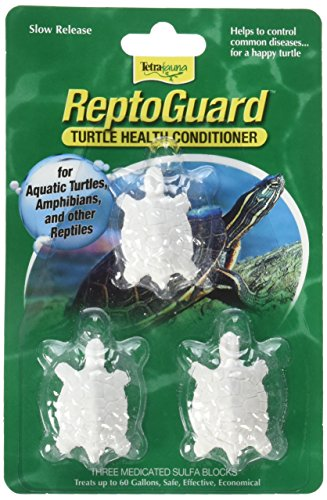 - Tetra 19514 ReptoGuard Water Conditioner Block, 6-Count