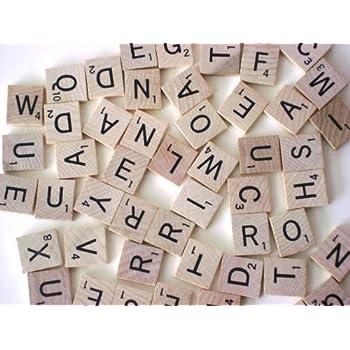 scrabble tiles 100 letter tiles