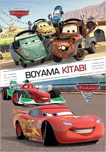 Disney Arabalar Boyama Kitabi Kolektif 9786050929676 Amazoncom