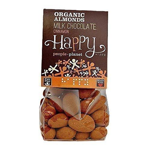Happy People - Chocolate con Leche Canela Almendras 150g Pack 3 Unidades: Amazon.es: Salud y cuidado personal
