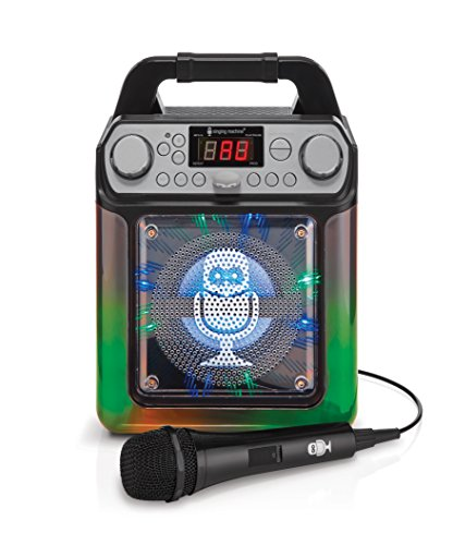2. Singing Machine Groove Mini Karaoke System