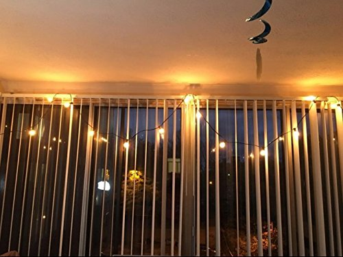 Patio Lights Party String Lights G40 Globe Bulbs Warm White Outdoor Indoor New eBay