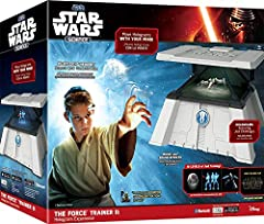 Become a Jedi Master! Move Star Wars holograms using brain-sensing technology as you develop the force of your own concentration. Master Yoda guides you through over 25 levels of Jedi training with real Star Wars music and sound effects. Levi...