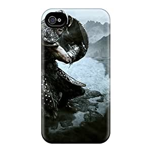 Diy Skyrim Back Cases/covers For Samsung Galaxy S6 Case Cover
