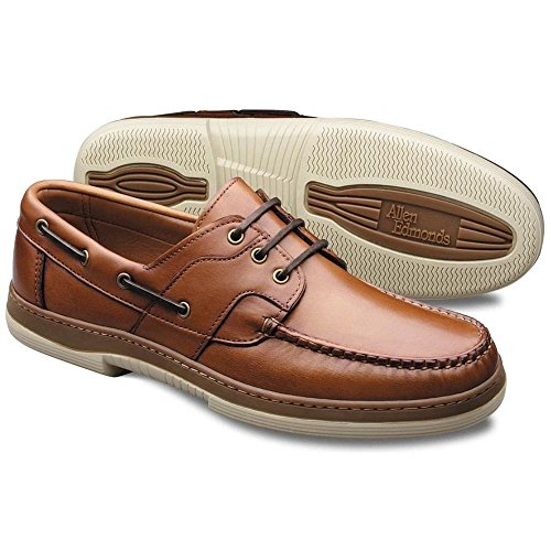 Allen Edmonds Men's Eastport Boat Shoe,Tan,11.5 D
