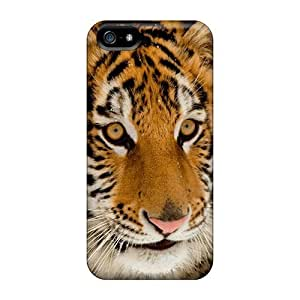 New Fashionable QlW7973eJyR Cover Case Specially Made Case For Ipod Touch 4 Cover (portrait Of A Tiger)