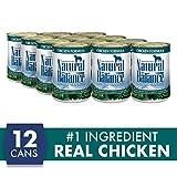 Natural Balance Ultra Premium Wet Dog Food, Chicke...