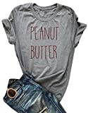 Best Peanuts Friend T Shirts - FAYALEQ Women's Casual Letter Print Life is Short Review