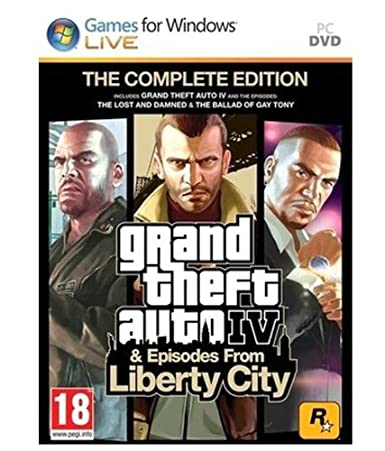 Buy GTA Grand Theft Auto 4 & Episodes from Liberty City (PC