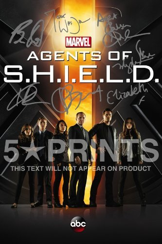 Agents of S.H.I.E.L.D Shield Poster Photo