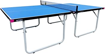 Butterfly Compact Table Tennis Table – 3 Year Warranty – Ships Assembled - Folding Ping Pong Table