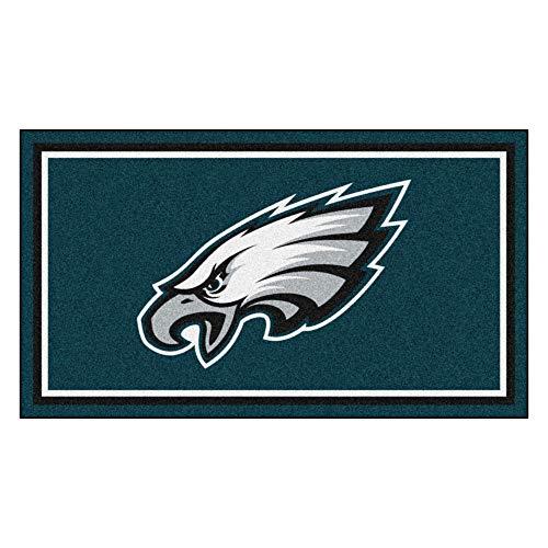NFL Philadelphia Eagles 3 Ft. x 5 Ft. Area RUG3 Ft. x 5 Ft. Area Rug, Green, 3' x 5'