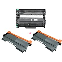 3PK 2 High Yield ShopCartridges ® (2TN450+DR420)) TN-450 DR-420 Compatible with Brother TN450 DR420 (2 Toner + 1 drum) DCP-7060D DCP-7065DN MFC-7360N MFC-7460DN MFC-7860DW HL-2220 HL-2230 HL-2240 HL-2240D HL2270DW HL-2280DW