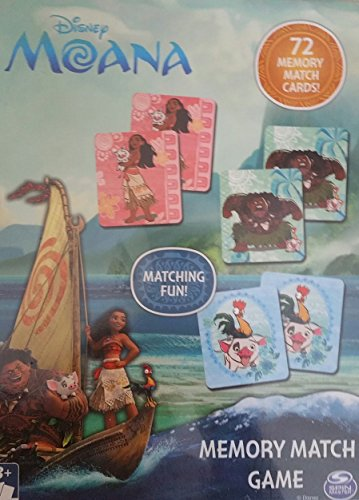 Disney Moana Matching Card Games Kids