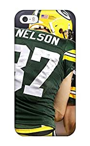 Snap-on Greenay Packers Case Cover Skin Compatible With Iphone 5/5s