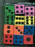 ~ 12 ~ Foam Dice ~ 1.5 Inch ~ Games Math Teaching ~ NEW