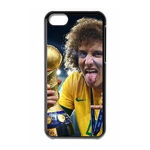 David Luiz iPhone 5c Cell Phone Case Black L0562649