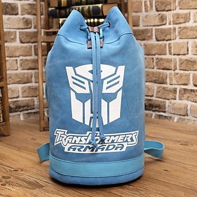Price comparison product image QINF Transformers Optimus Prime Mask Blue Backpack Cosplay Accessory