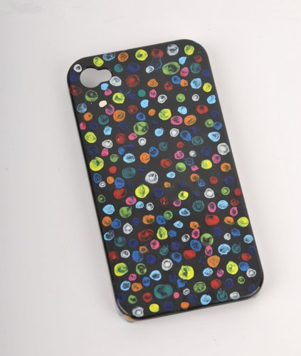 Dreamy Dots (Father's Day Gift Original Design iPhone 5 Case Hand painted Colorful Bubble Dots Premium Phone cover BD008)