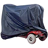 Waterproof Mobility Scooter and Wheelchair Storage Cover Heavy Duty Rain Protection by Co-operative Independent Living