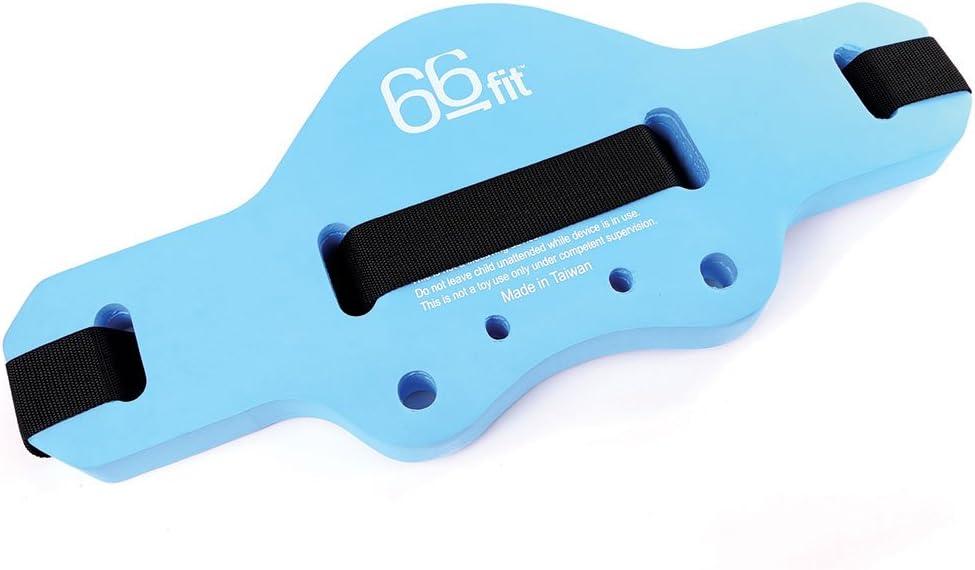 66fit Limited Aqua Floatation Jogging - Cinturón de natación, Color Azul