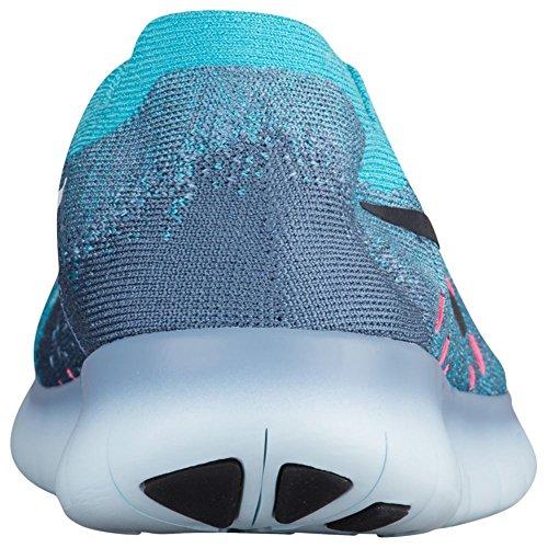 Da Obsidian 400 Nike Wmns Free Rn Dark work Running Donna Trail Scarpe Chlorine Blue Flyknit 2017 Blu aYpp4qw6