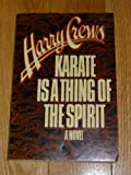 img - for Karate Is a Thing of the Spirit: A Novel book / textbook / text book