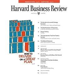 Harvard Business Review, June 2008