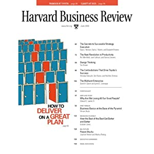Harvard Business Review, June 2008 Periodical