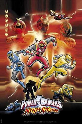 Amazon.com: Power Rangers Ninja Storm POSTER Movie (27 x 40 ...