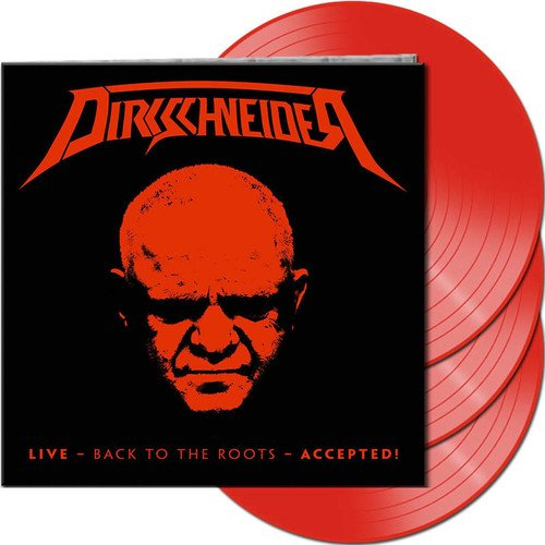 Dirkschneider - Live - Back To The Roots - Accepted! (Gatefold LP Jacket, Limited Edition, Red, 3PC)