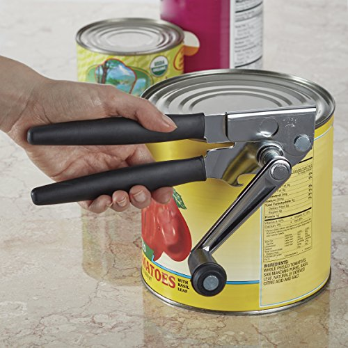 Swing-A-Way Easy-Crank Can Opener with Folding Crank Handle, Black by Swing-A-Way (Image #2)