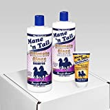 Mane 'n Tail NEW Ultimate Gloss Shampoo 32 Ounce/Ultimate Gloss Conditioner 32 Ounce with Coconut Oil/Free Hoofmaker Tube