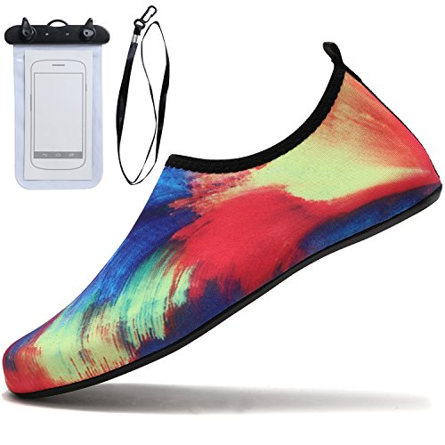 Pool Water Barefoot For Beach Sixspace Shoes Unisex Socks Swim Multicolor Surf Aqua Yoga qCwOfxFZ