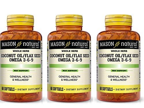 Mason Gels Flax Seed Ccnt Oil
